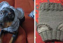 crochet dog  coats