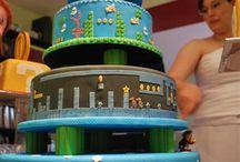 geeks wedding cakes :)
