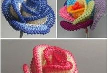 flori crosetate / crochet flowers