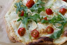 Pizza u. Flammkuchen
