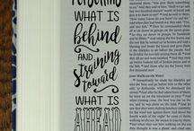 Lettering bijbel