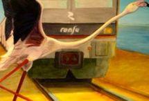 Angela Acedo: venta de un cuadro al óleo / Angela Acedo es una artista de la Región de Murcia, afincada en Cartagena. Este cuadro tan interesante está a la venta http://www.angelaacedo.com/