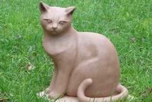 Scultures de chat