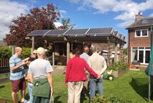 Solar Carports and Shelters / Design ideas for solar carports and solar shelters, images from around the world.