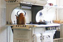 estufas y cocinas antiguas