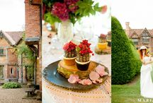 Dorney Court shoot / A styled wedding photo shoot at Dorney Court. Scandi chic meets medieval banquet