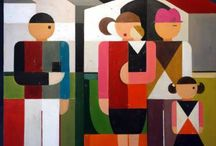 cubism / abstract paintings from people