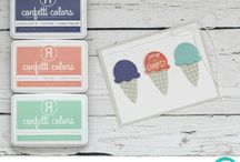 Confetti Colors / Color Combinations featuring Ink Colors by Reverse Confetti