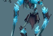 Ice Character Ideas