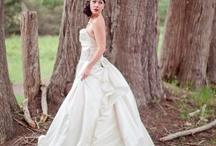 Glamour bridal style