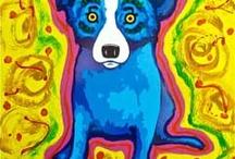 Blue Dog, Blue Horse