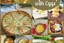 National Egg Month Inspiration from Around My Family Table / We're EGGS-tatic for blogger Wendy O'Neal to share her egg-inspired recipes, tips and tricks in celebration of National Egg Month. Follow along & repin your favorites! / by Teflon® Brand