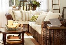 Pottery Barn Decor / Ideas for how to make your house look like it was decorated by someone from Pottery Barn.
