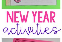 New year activities in class