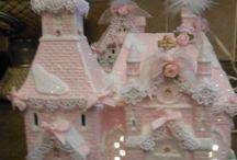 shabby pink victorian