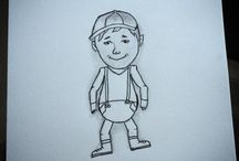 Je débute en dessin...