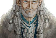Thorin, Thorin, Thorin.... a Thorin :) / Thorin jako filmová i literární postava ve zpracování různých kreslířů.