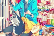 Anime - we are family <3 / Tập hợp những ảnh anime đẹp, đầy nghệ thuật P/s: Có thể lưu ảnh shounen ai hoặc shoujo ai ^ ^