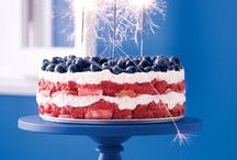4th of July Love / July 4th is the summer's classic holiday – outdoor barbecues, cold beverages and of course, plenty of red, white and blue. Throw the perfect party with a few of our favorite ways to celebrate in style.