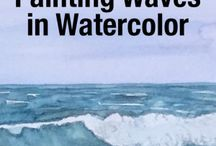 how to paint using water colour