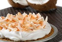 Vegan Pies / I seriously thought i was going to have to go the rest of my life without coconut cream pie.... OH HEAVENLY GLORY!!! I DON'T! / by Heather Claussen