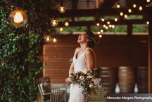 Alphonse Mucha Inspired Wedding Shoot