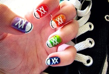 nails art / over mooi versierde nagels