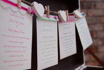 Paper Wedding - pastels / Selection of handmade vintage inspired Wedding stationery, designed and created by Paper Wedding.