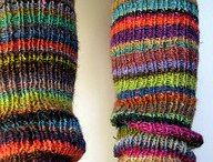 #Knit Socks & Slippers / socks, slippers, legg warmers, ankle warmers, booties, etc.