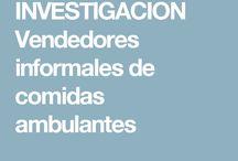 COMIDA DE VENDEDORES AMBULANTES