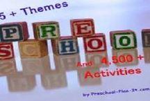 Preshool themes