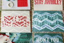 DIY Doormat / Check these wonderful DIY Doormat #diy #doormat