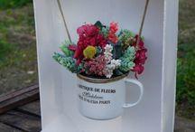 arreglos de flores vintage
