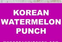 Korean Drinks