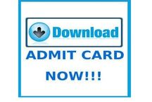 Download Admit Cards, Hall Tickets & Call Letters for September 2016