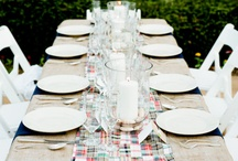 Rehearsal Dinner Ideas / by Girl by the Lake