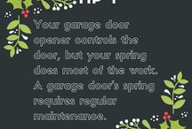 December Gift Tips / A different tip about your garage door every day of December! Our gift to you, from the whole A Plus team!