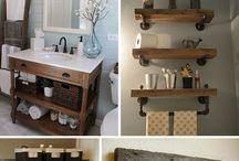 baño rustic