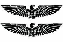 Underboob Tattoo Eagle