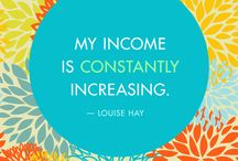 Prosperity Positive Affirmations / Learnings from Louise Hay