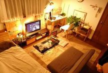 Japanese Apartments / Small Japanese apartments with great interior design and space saving ideas.