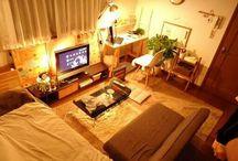 新居の部屋