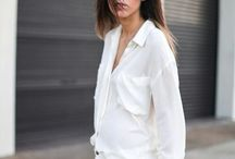 Stylecab loves: The White Shirt   / a fresh look for the new year, stylecab's tips for how to wear the classic white shirt