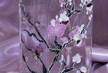 Malba na sklo