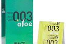 콘돔 / 브랜드별 콘돔의 특성, 사이즈, 재질