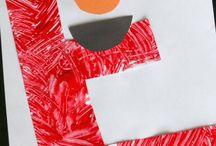 Letter E Preschool / Preschool activities, books, and crafts for the Letter E.