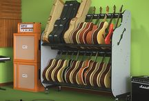 Music Studio Furnishings / Here's a look at some of the coolest products to decorate and furnish your music studio.