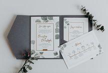 papeterie / Hochzeitseinladungen