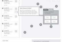 Flowcharts & Wireframes
