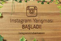 """2015 Club Amazon Instagram Yarışma / """"Bana göre glamping"""" konulu instagram yarışmamız 15 Haziran itibari ile başlamış olup, yarışmaya katılacak olan tüm Amazonzedelere şimdiden başarılar dileriz. :)  #clubamazon #bördübet #glamping"""